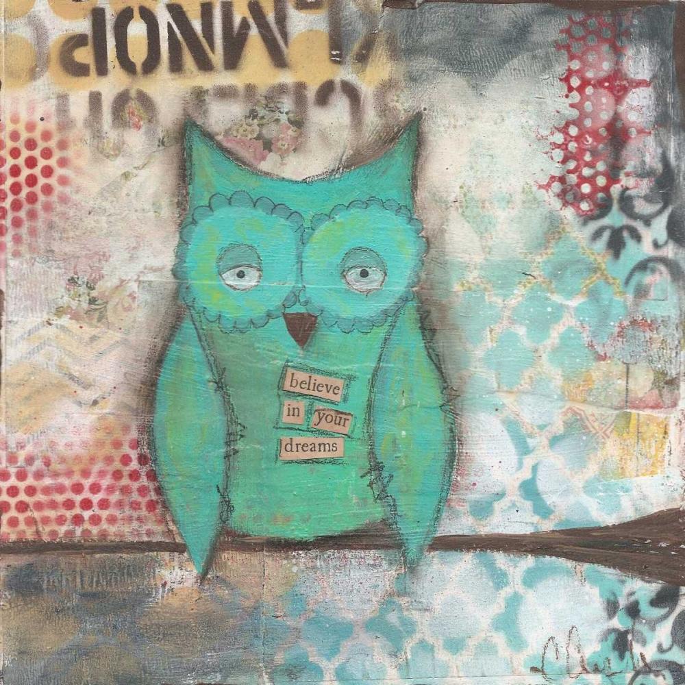 Believe in Your Dreams Owl Cushman, Cassandra 41553
