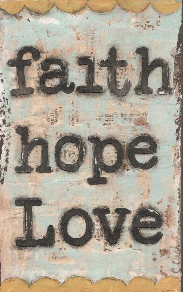 Faith Hope Love Cushman, Cassandra 48393