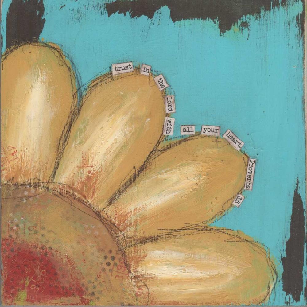 Yellow Flower Cushman, Cassandra 104784