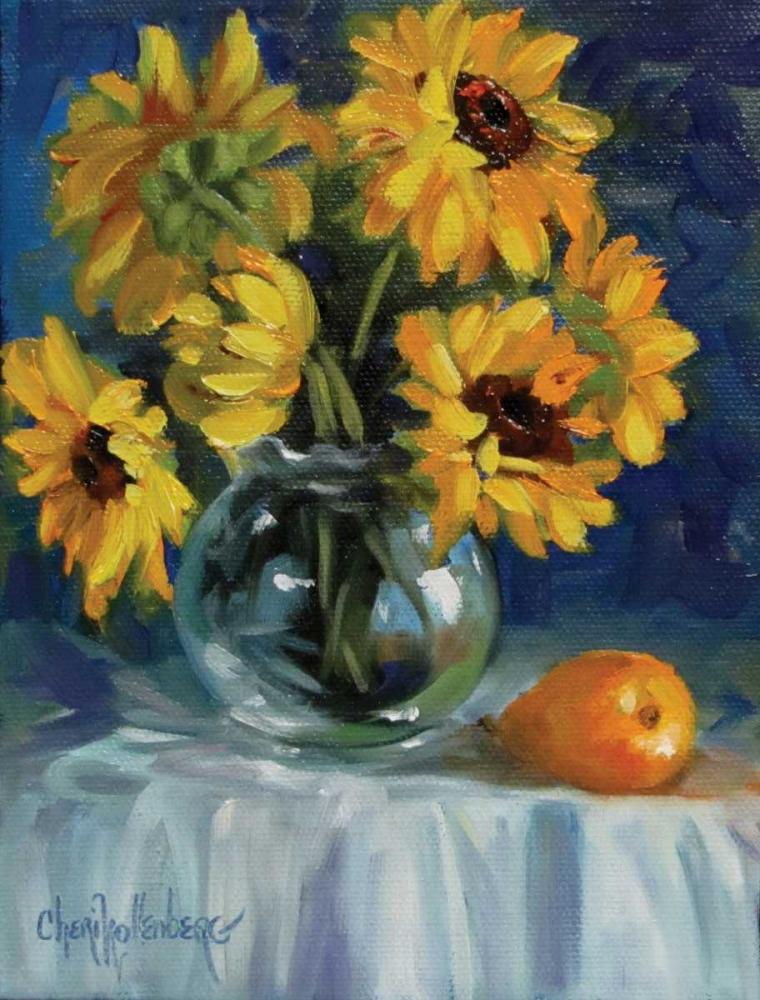 Sunflower and Pear Wollenberg, Cheri 55900