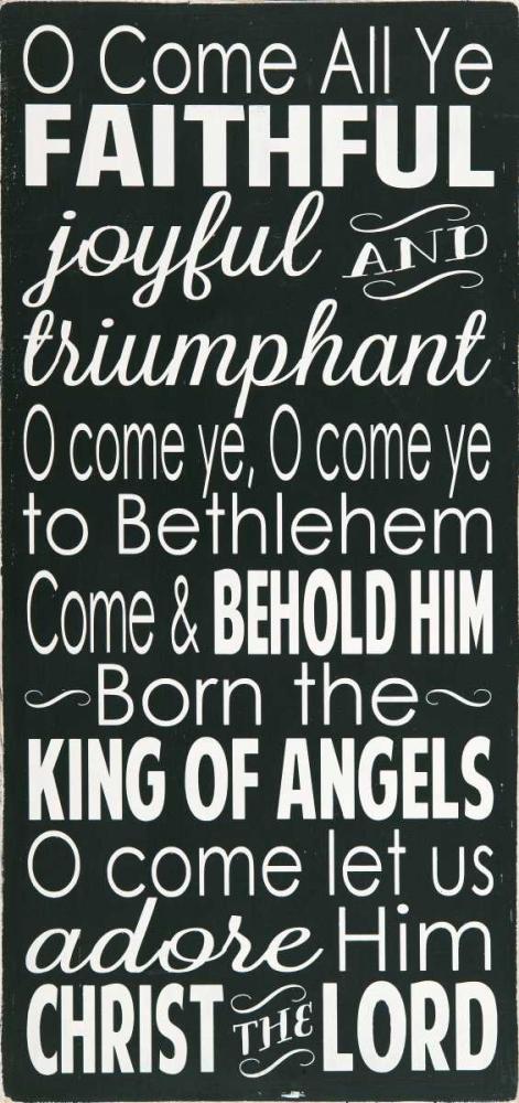O Come All Ye Faithful Deranja, Erin 48431