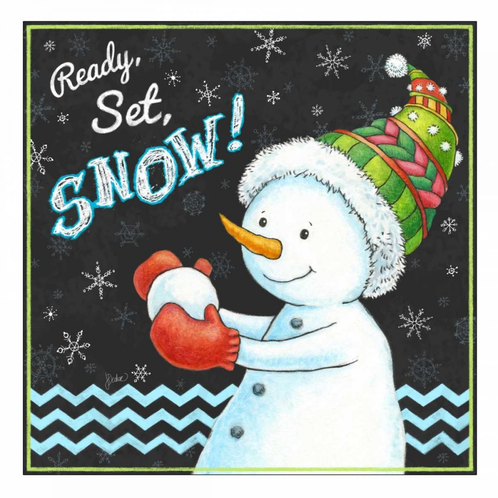 Ready, Set, Snow! Decker, Jacqueline 88432