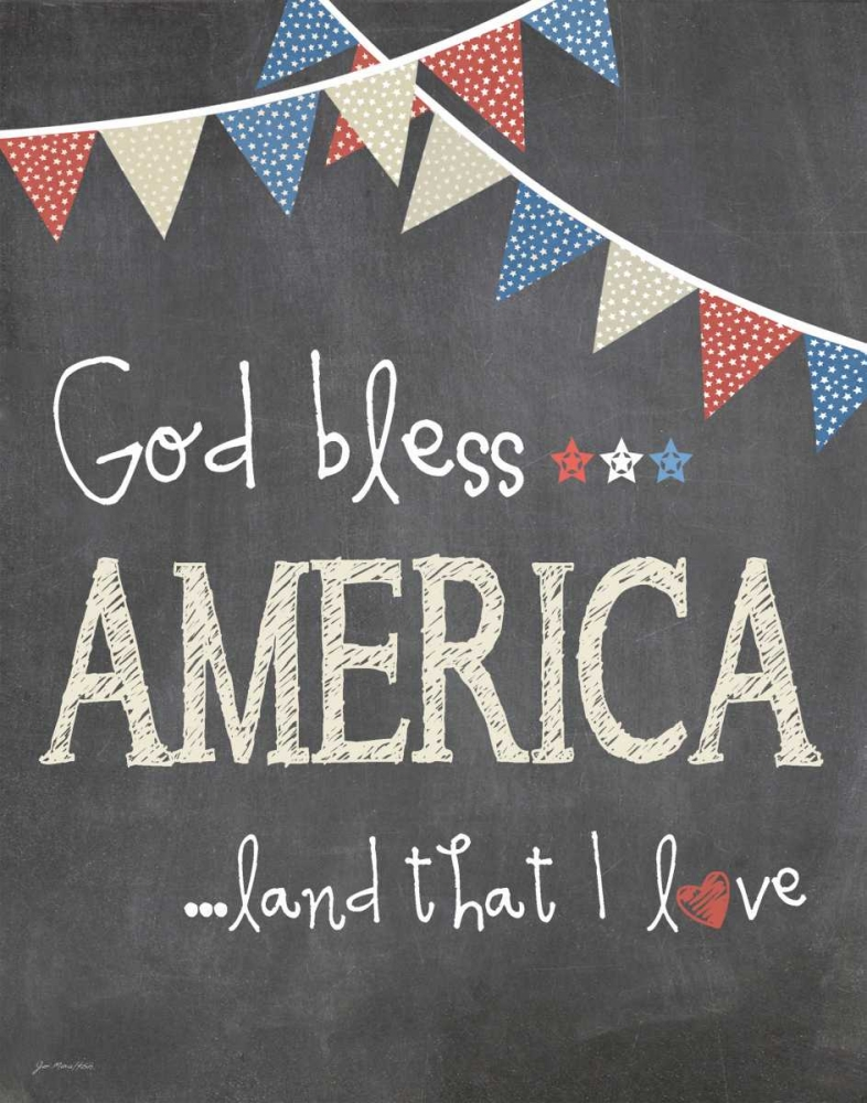 God Bless America Moulton, Jo 44595