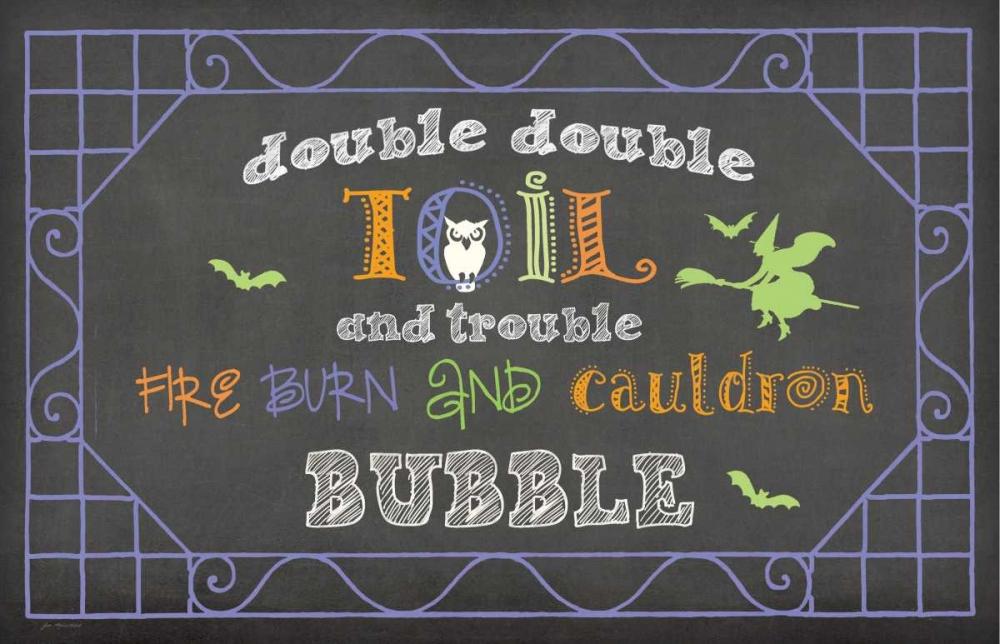 Toil and Trouble Moulton, Jo 48703