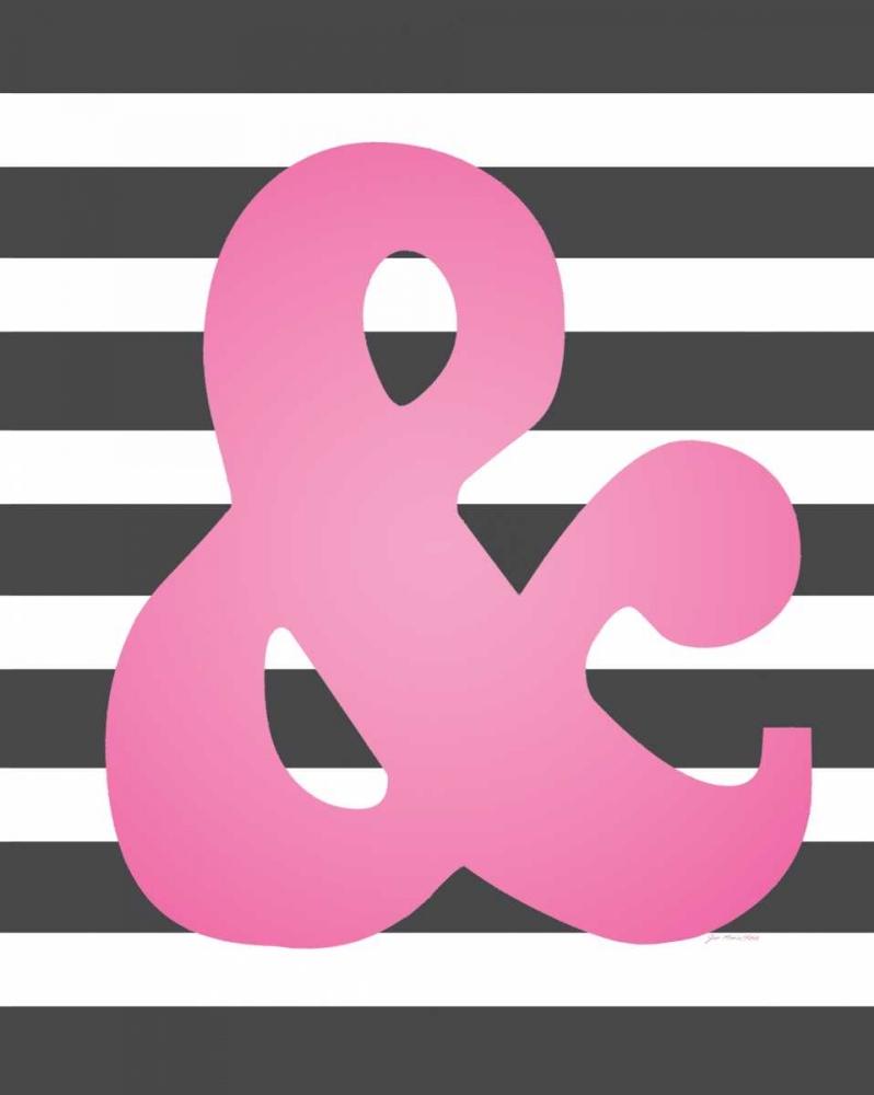 Faux Pink Ampersand 2 Moulton, Jo 48707