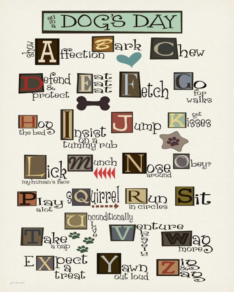 Dog Alphabet Moulton, Jo 53361