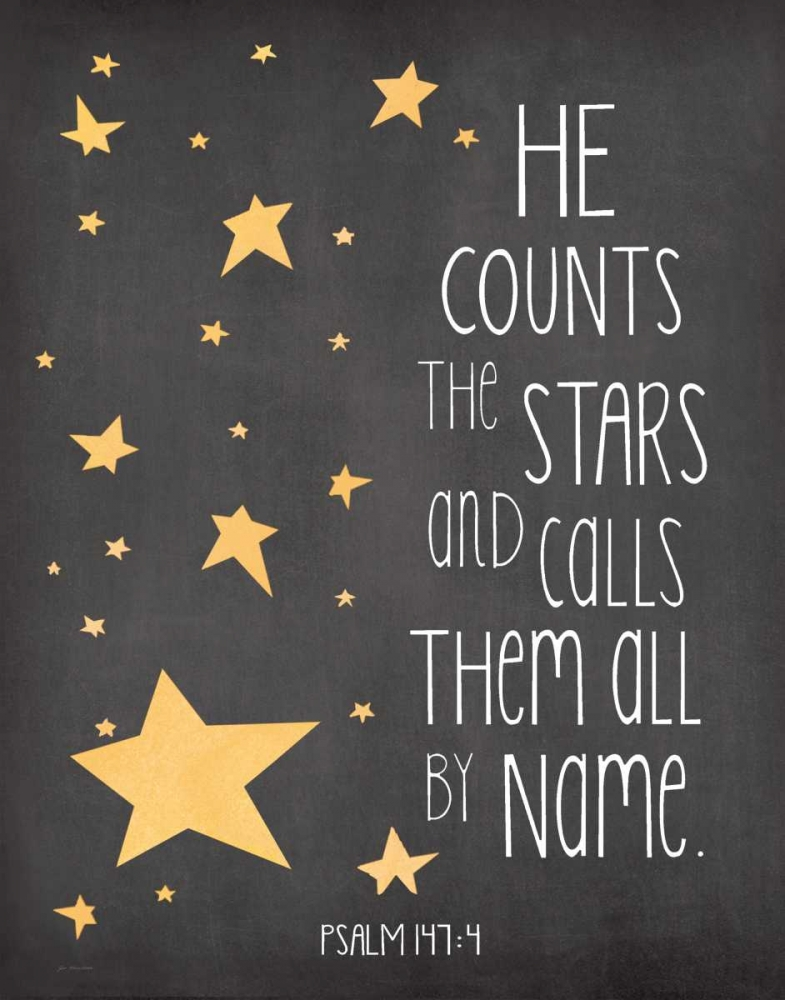 He Counts the Stars Moulton, Jo 80937