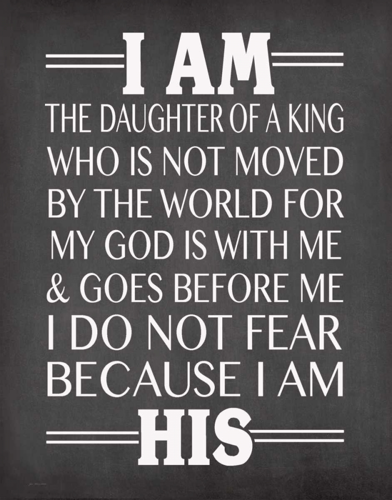 I am His Daughter Moulton, Jo 80943