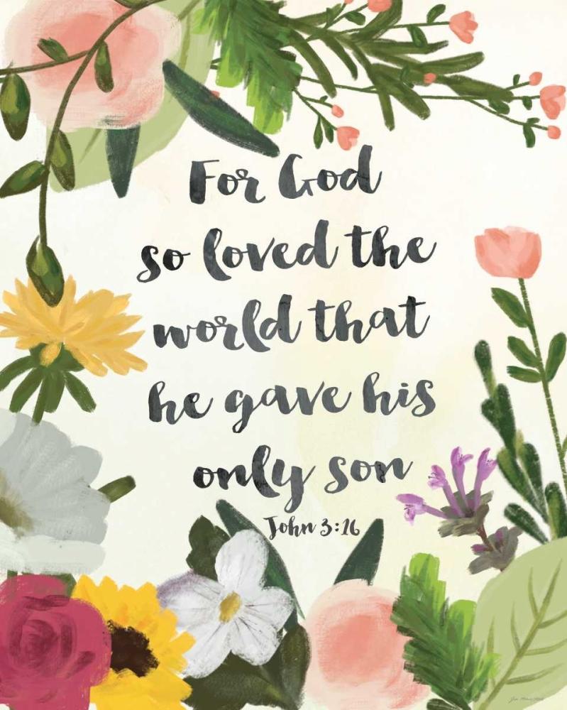God So Loved the World Moulton, Jo 88511