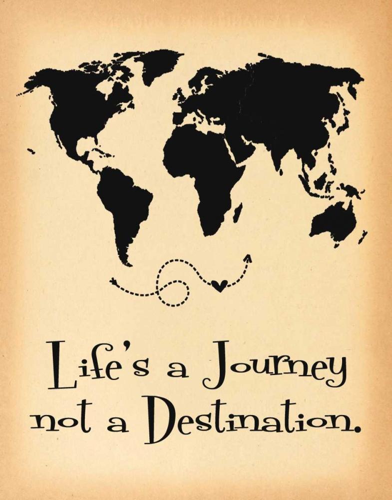 Lifes a Journey Parchment Moulton, Jo 118376