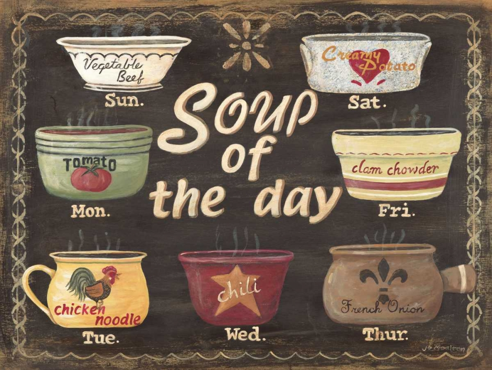 Soup of the Day Moulton, Jo 44639