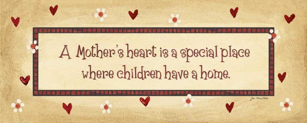 A Mothers Heart Moulton, Jo 44941
