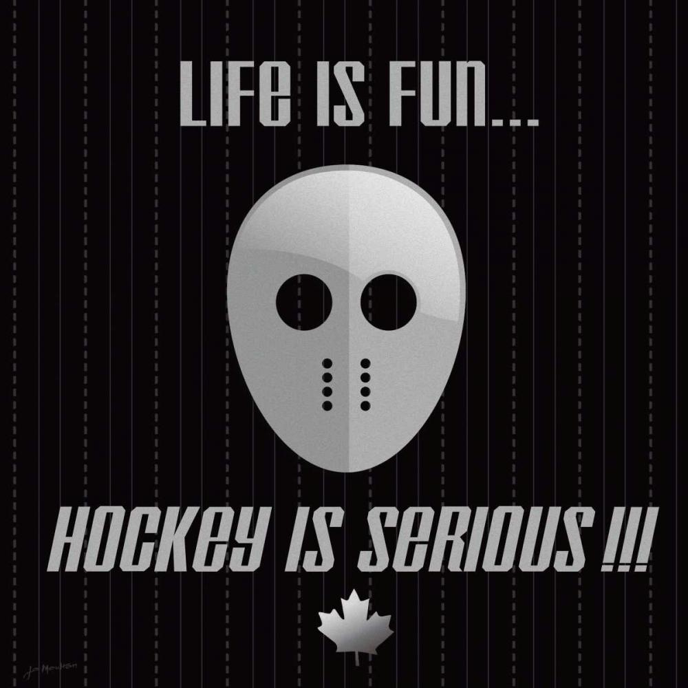 Hockey Is Serious Moulton, Jo 45058