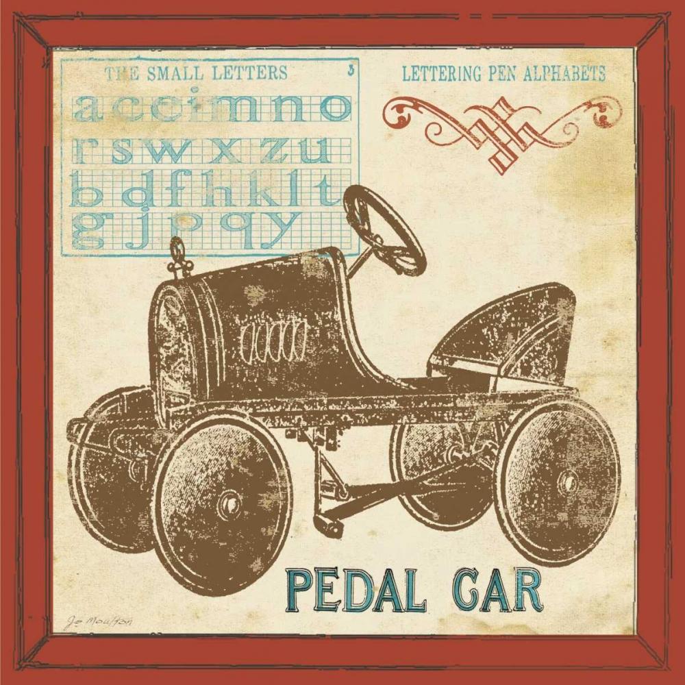Vintage Pedal Car Moulton, Jo 45091