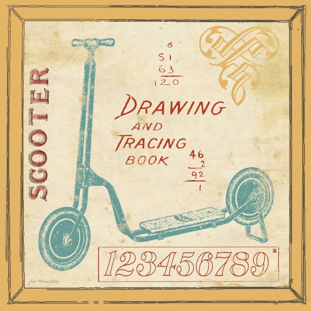 Vintage Scooter Moulton, Jo 45092