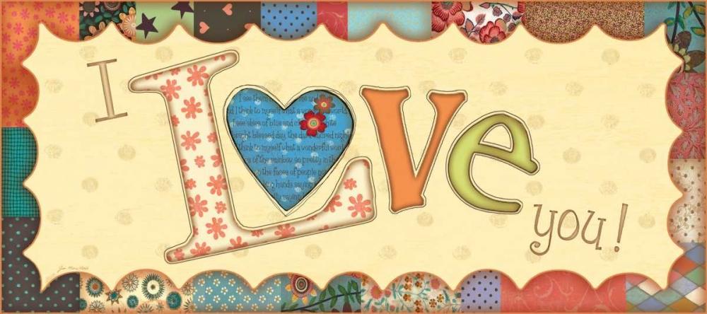 I Love You Moulton, Jo 45128