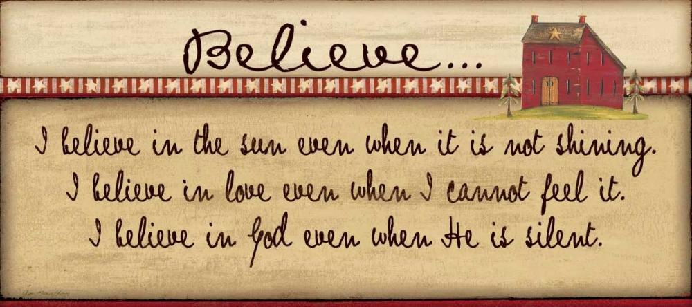 Believe Moulton, Jo 45156