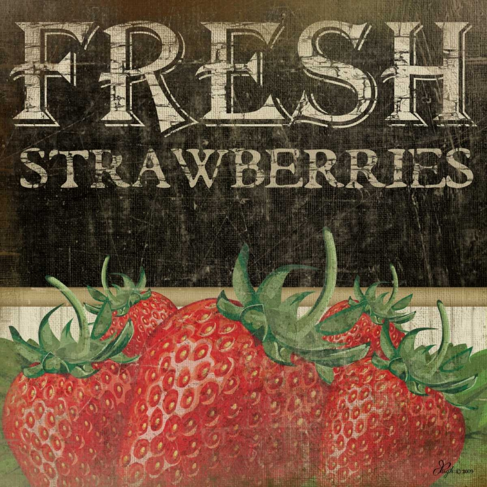 Fresh Strawberries Pugh, Jennifer 45211