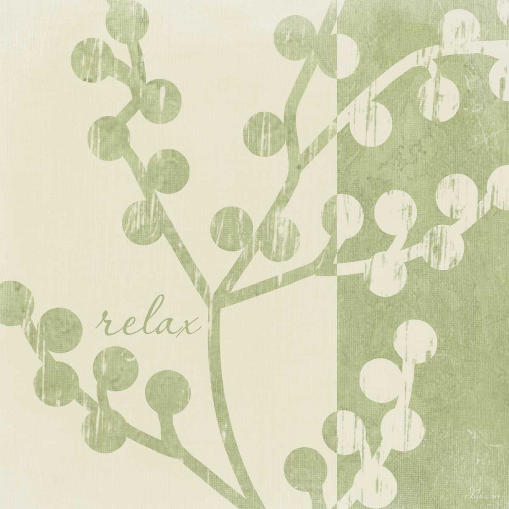 Green - Cream Relax Pugh, Jennifer 45275