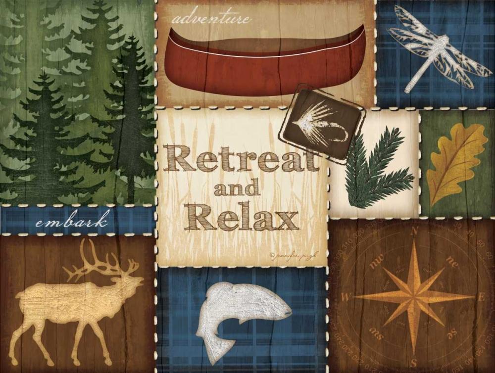 Retreat and Relax Pugh, Jennifer 45405