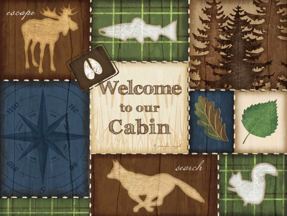 Welcome to Our Cabin Pugh, Jennifer 45407