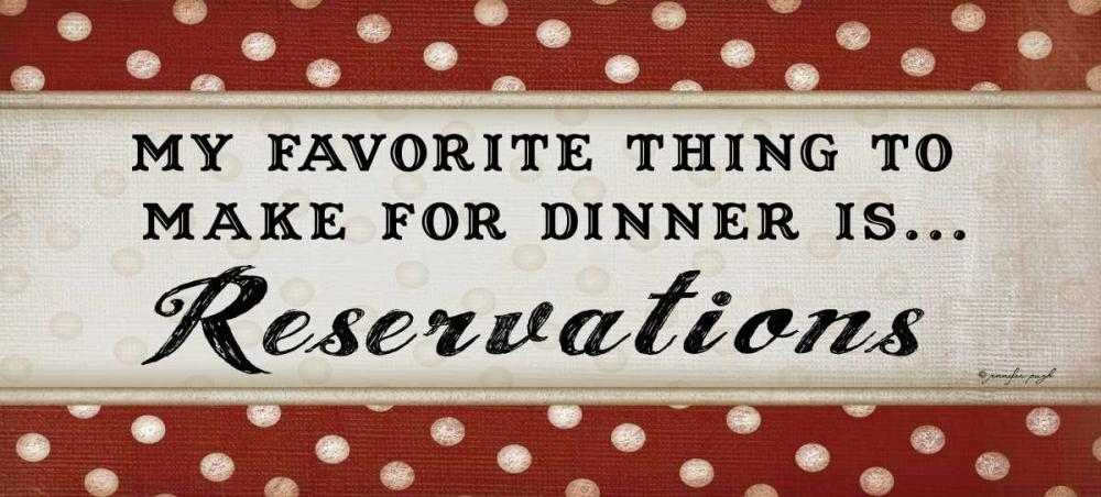 Dinner Reservations Pugh, Jennifer 45422
