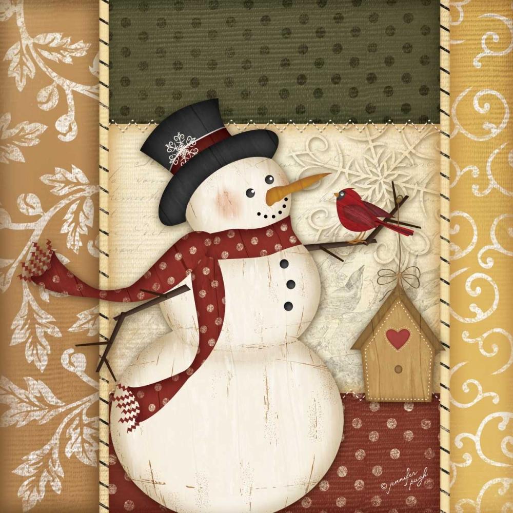 Country Snowman Pugh, Jennifer 45430