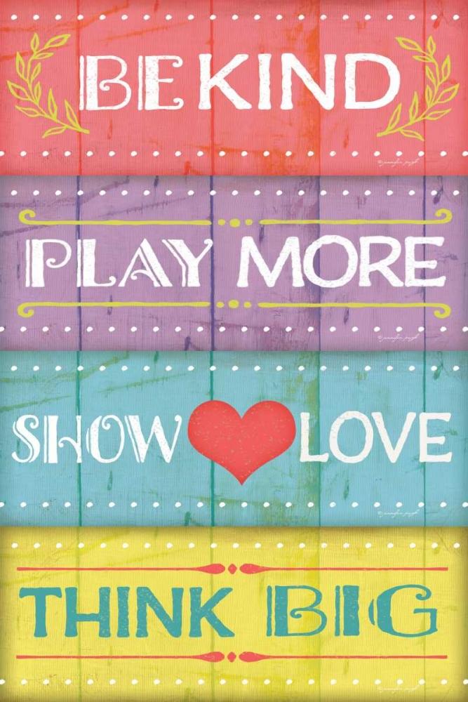 Kind Play Love Think Pugh, Jennifer 41731