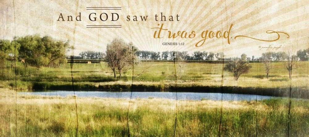 And God Saw That It Was Good Pugh, Jennifer 48754