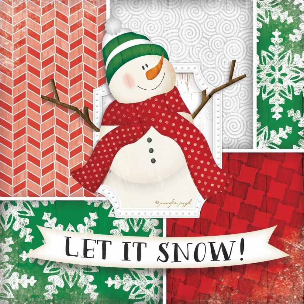 Let It Snow - Snowman Pugh, Jennifer 48842