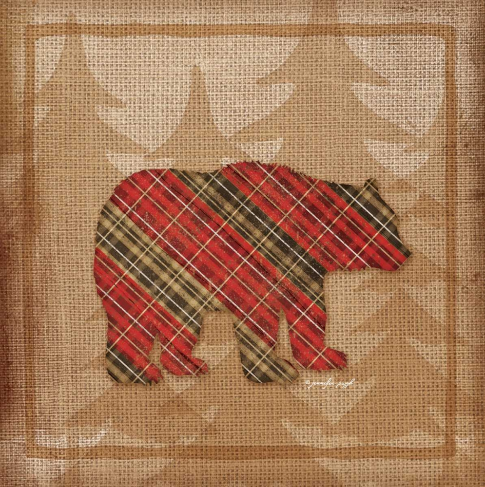 Bear Plaid Pugh, Jennifer 53371