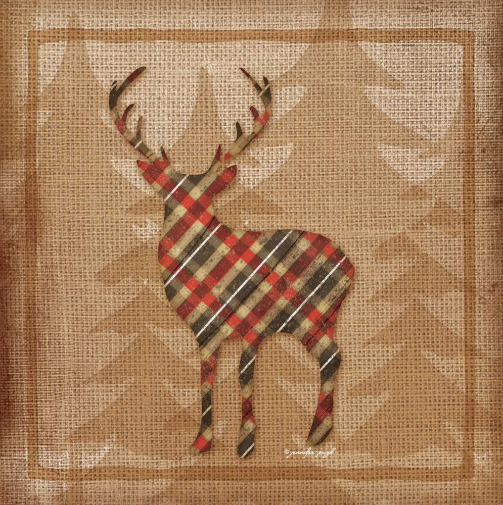 Deer Plaid Pugh, Jennifer 53373