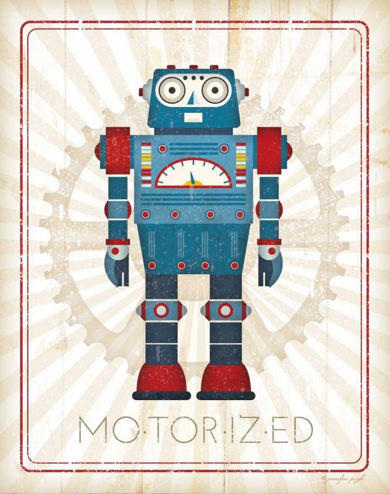 Retro Robot IV Pugh, Jennifer 53393