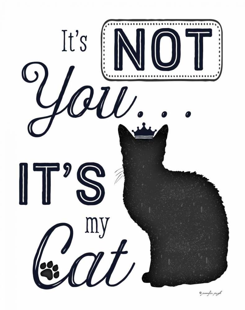 Its Not You - Its My Cat Pugh, Jennifer 63100