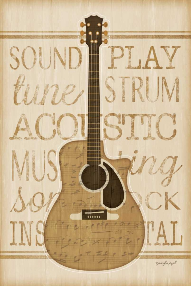 Music Guitar Pugh, Jennifer 77667