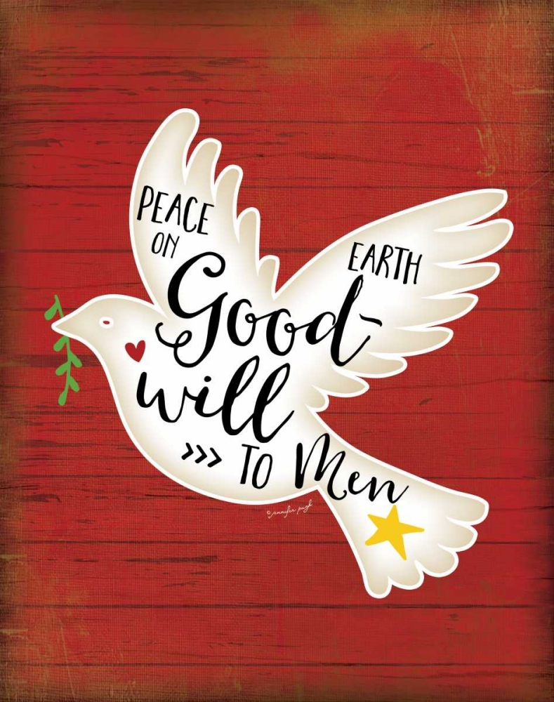 Peace on Earth Dove Pugh, Jennifer 80977
