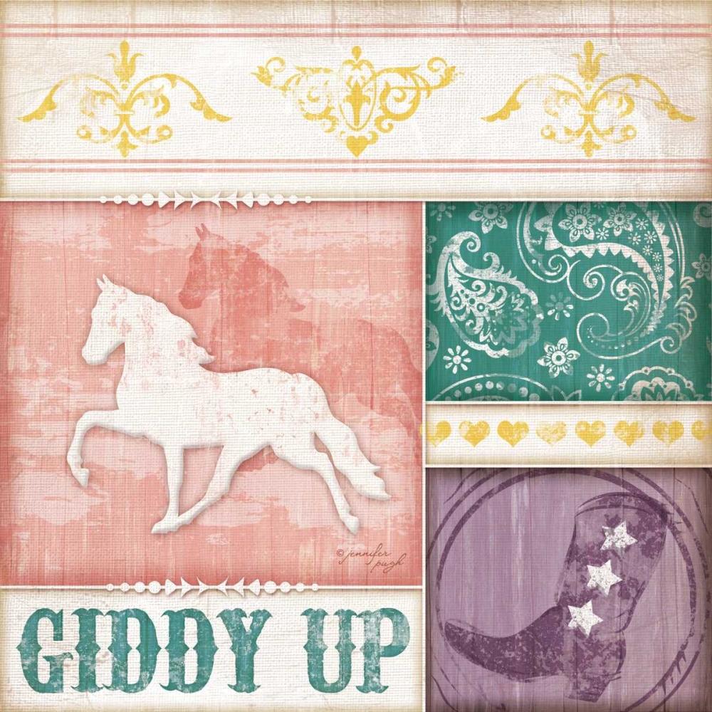 Cowgirl Giddy Up Pugh, Jennifer 97441
