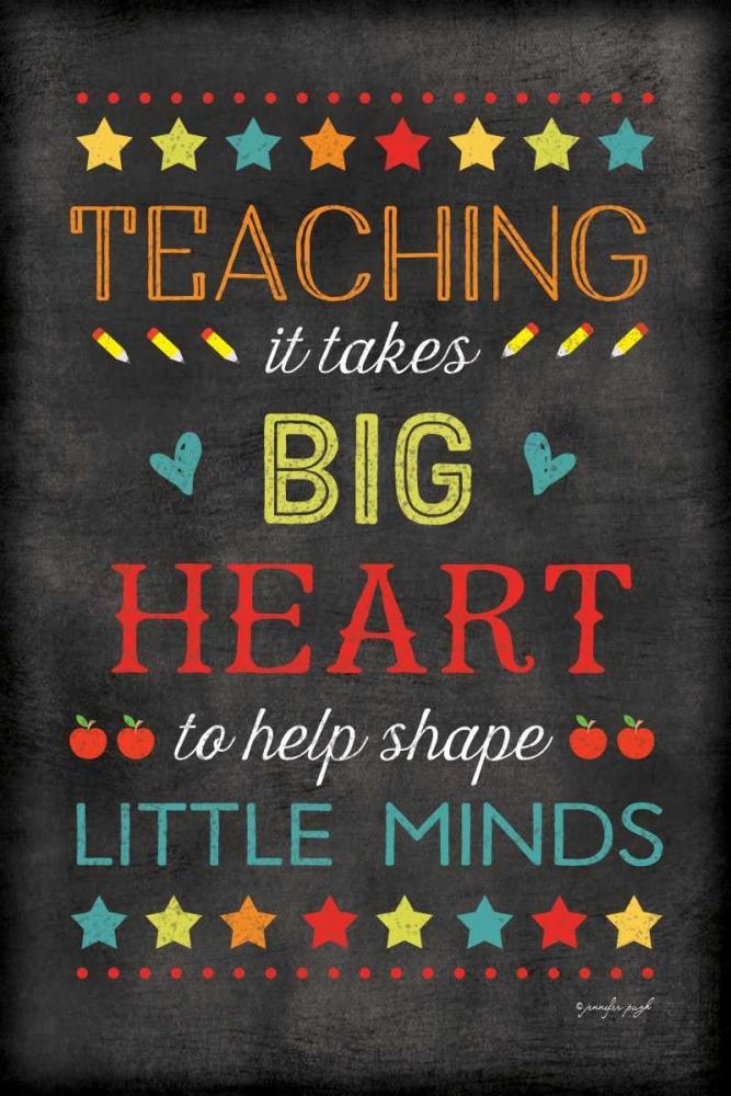 Teaching Big Heart Pugh, Jennifer 118476