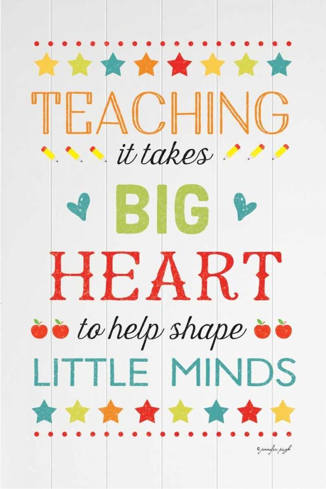 Teaching Big Heart Pugh, Jennifer 118477