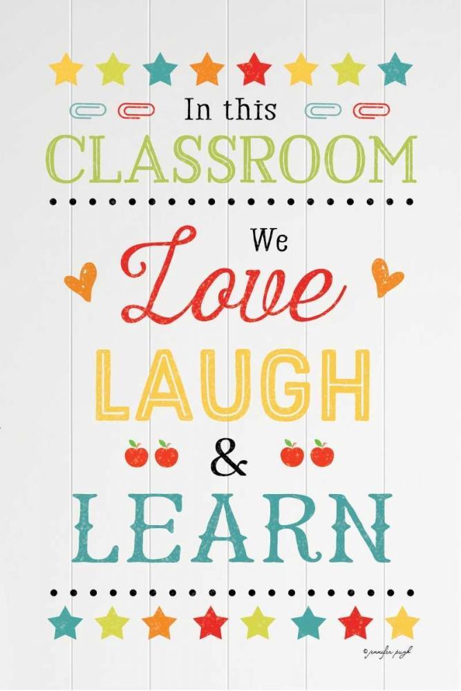 Love Laugh Learn Pugh, Jennifer 118483