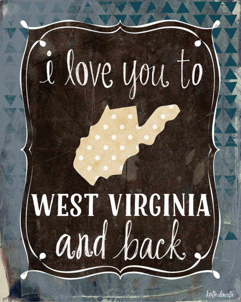 West Virginia and Back Doucette, Katie 72847