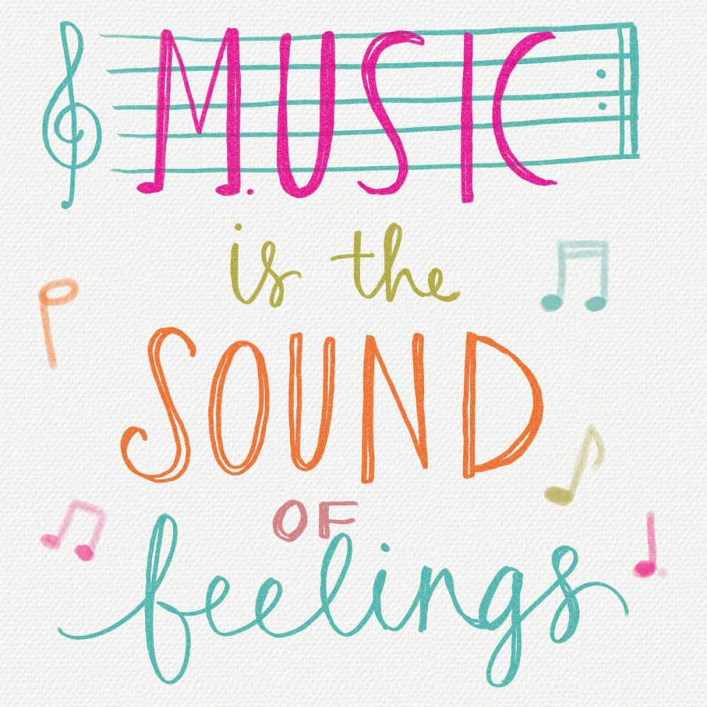 Music is the Sound of Feelings Doucette, Katie 77682