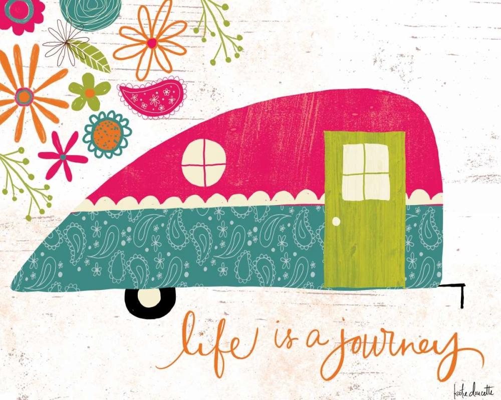 Life is a Journey Doucette, Katie 83312