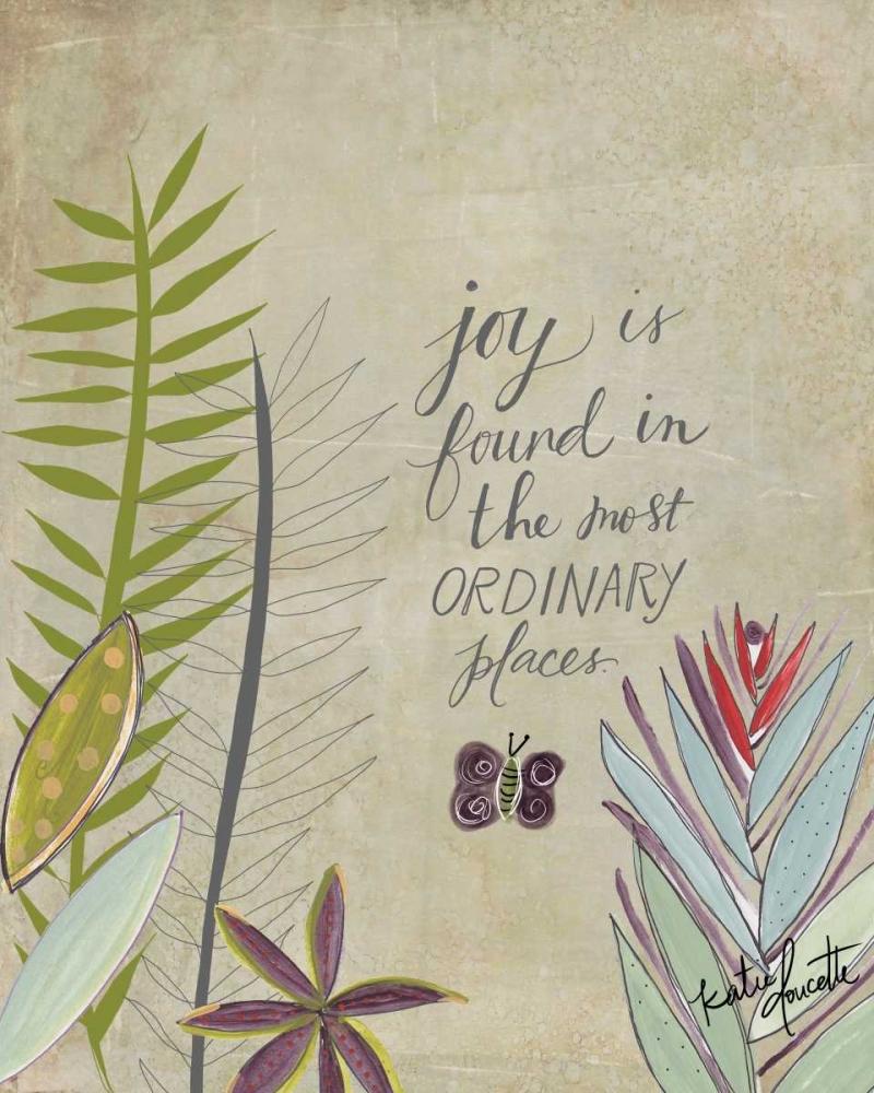 Joy in Ordinary Places Doucette, Katie 118510