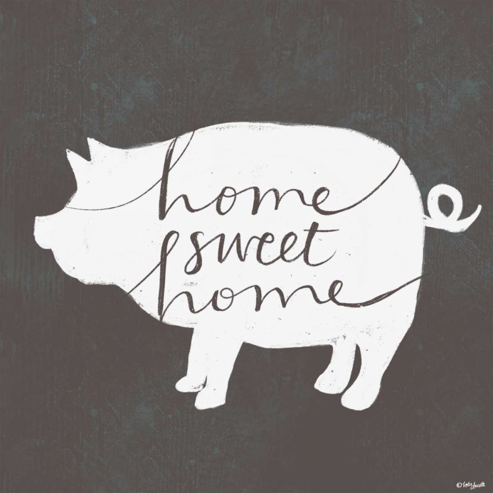 Home Sweet Home Pig Doucette, Katie 153492