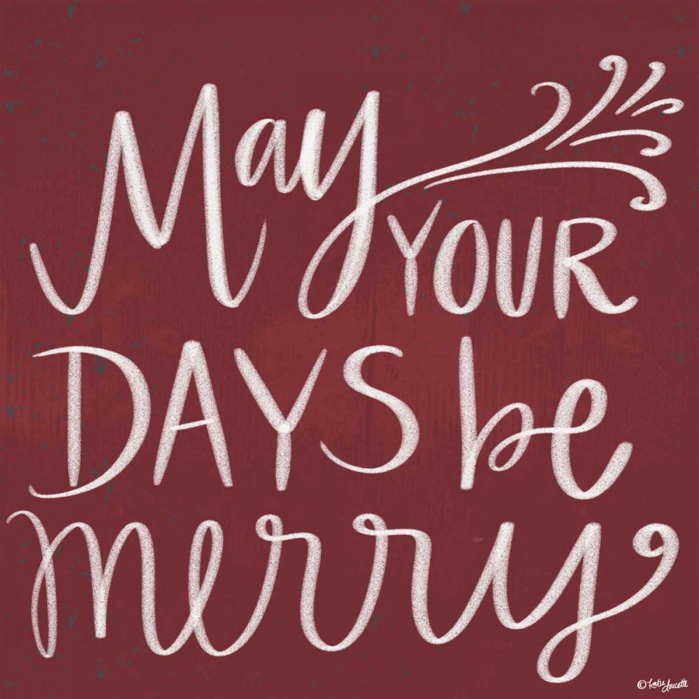 May Your Days Be Merry Doucette, Katie 153506