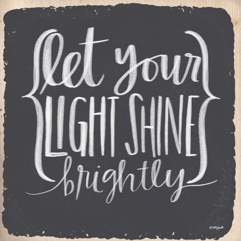 Let Your Light Shine Brightly Doucette, Katie 153532