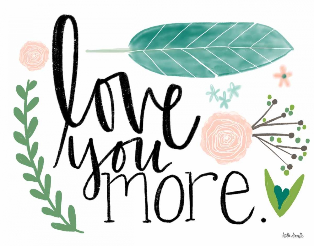 Love You More Doucette, Katie 156599