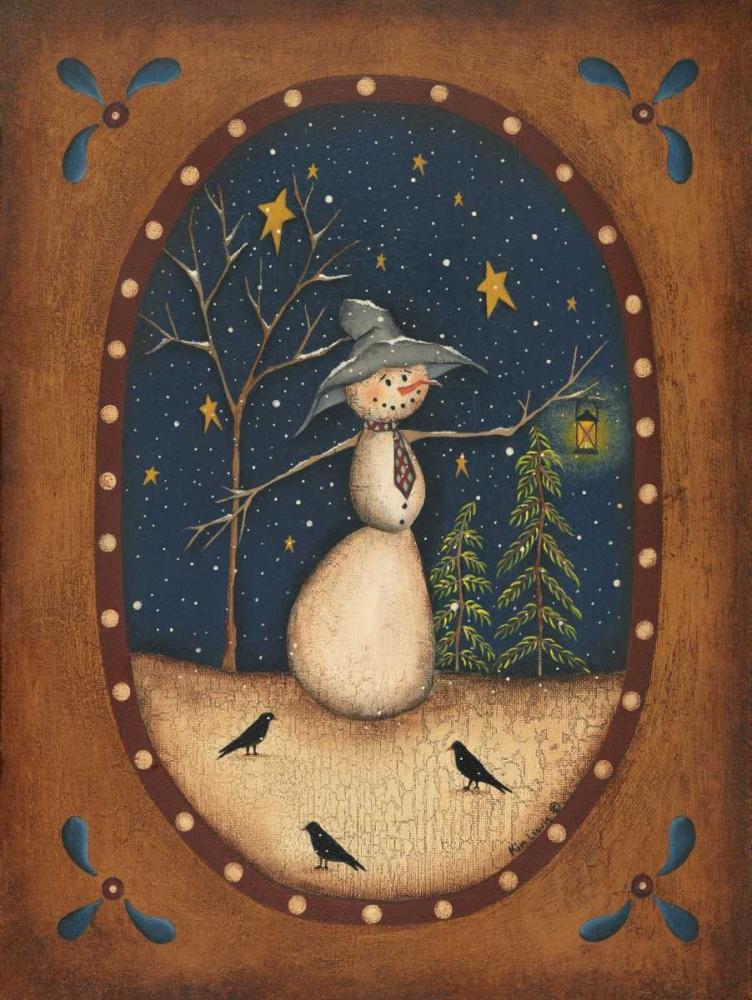 Snowman Lantern Lewis, Kim 45557