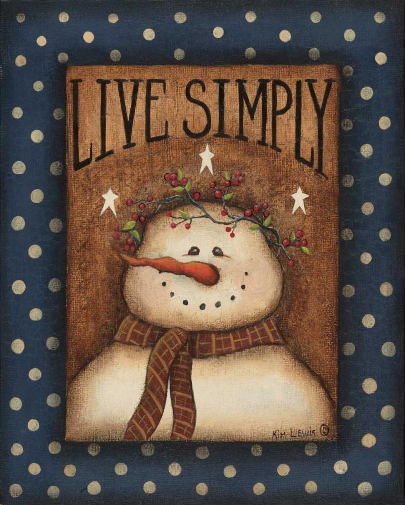 Live Simply Lewis, Kim 45561